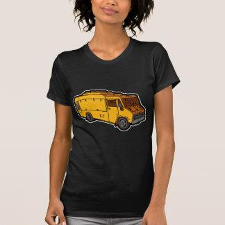 Camión de la comida Básico amarillo Camisetas