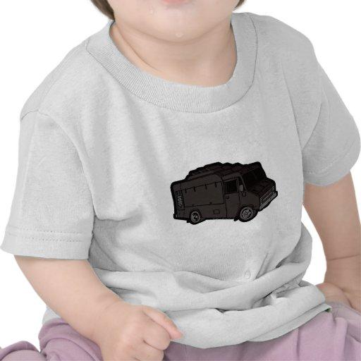 Camión de la comida: Básico (negro) Camiseta
