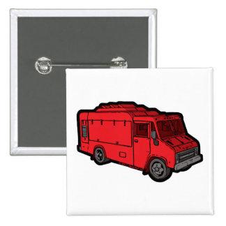 Camión de la comida: Básico (rojo) Pins