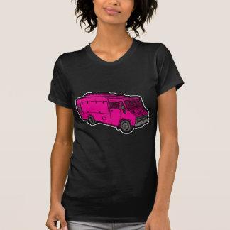 Camión de la comida: Básico (rosa) Playera