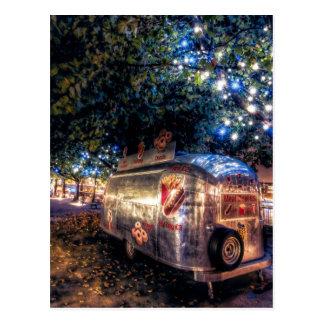 Camión de la comida de Southbank, Londres Tarjetas Postales