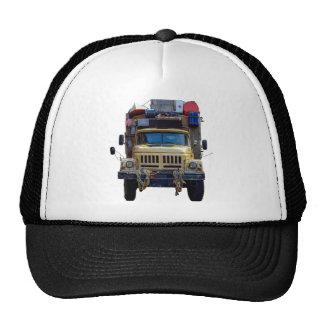 Camión de la expedición del desierto del vintage gorras