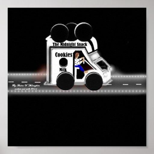 camión de la galleta poster