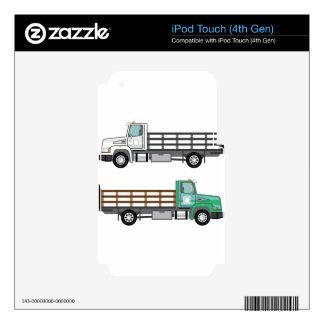 Camión de la granja calcomanía para iPod touch 4G