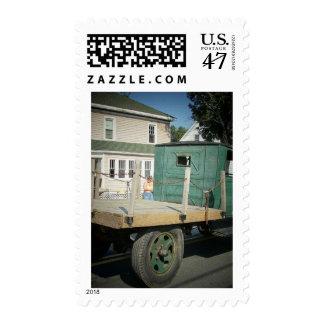 Camión de la granja sellos