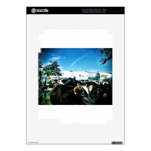 camión de la leche calcomanía para el iPad 2