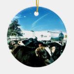 camión de la leche ornamento de navidad