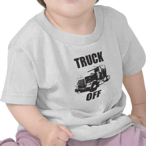 Camión de la ropa camisetas