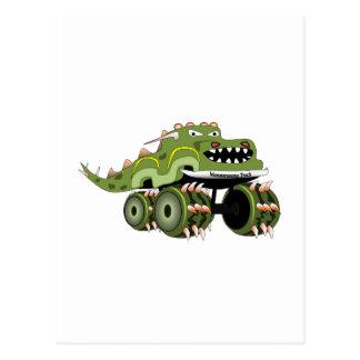 Camión de Monstersaurus Tarjetas Postales
