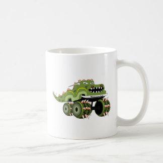 Camión de Monstersaurus Taza De Café