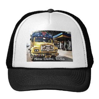 Camión de Nueva Deli Gorros Bordados