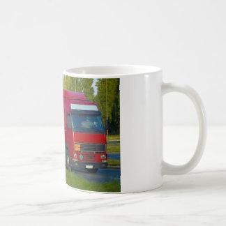 camión de petrolero taza clásica