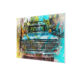 Camión de Pickin'up de MissionDistrict de San Impresión En Lona Estirada