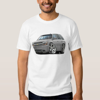 Camión de plata del pionero playera