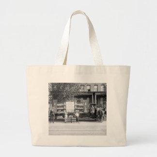 Camión de reparto de la gaseosa, los años 20 tempr bolsa de tela grande