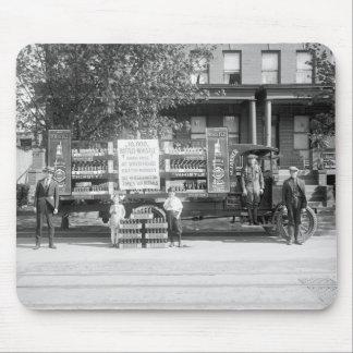 Camión de reparto de la gaseosa, los años 20 tempr tapetes de ratón
