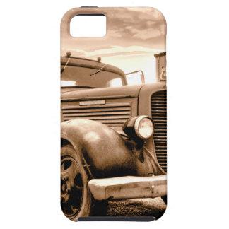 Camión de reparto de Stranahans - sepia entonada iPhone 5 Case-Mate Carcasas