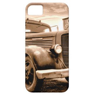 Camión de reparto de Stranahans - sepia entonada iPhone 5 Cárcasa