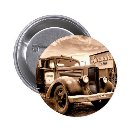 Camión de reparto de Stranahans - sepia entonada