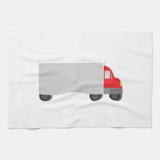 Camión de reparto toalla de cocina