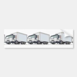 Camión de reparto pegatina para auto