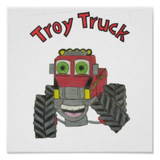 Camión de Troy Póster