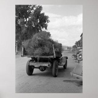Camión de Tumbleweed, 1939 Poster