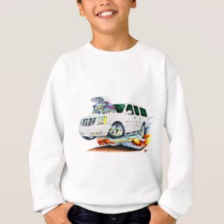 Camión del blanco de Cadillac Escalade Remera