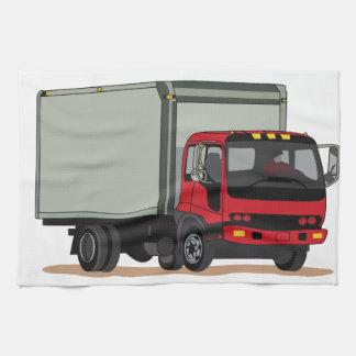Camión del cargo toallas de cocina