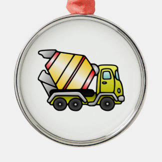 Camión del cemento adorno de navidad