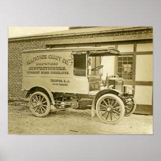 Camión del Co del caramelo de Allfather de Trenton Posters