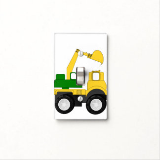Camión del excavador cubiertas para interruptor