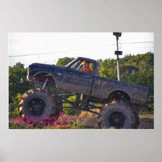 Camión del fango póster