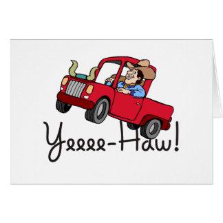 Camión del Haw de Yee Tarjetas
