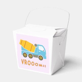 Camión del mezclador de cemento cajas para regalos de fiestas