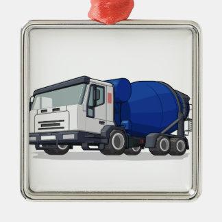 Camión del mezclador de cemento ornamentos de reyes magos