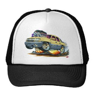 Camión del moreno de la avalancha gorras