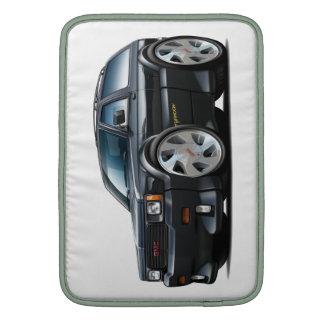 Camión del negro del tifón de GMC Fundas Macbook Air
