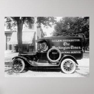 camión del panel de los años 20 impresiones