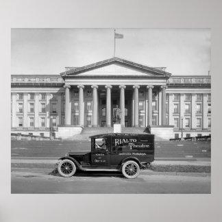 Camión del panel del teatro de Rialto: los años 20 Poster