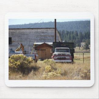 Camión del rancho tapetes de raton