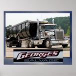 Camión del salvamento de George Posters