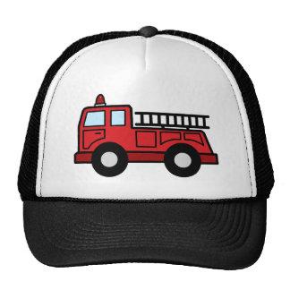 Camión del vehículo de la emergencia del Firetruck Gorro De Camionero