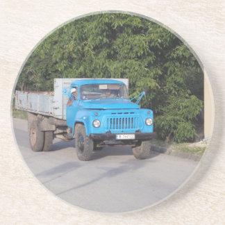 Camión del veterano posavasos manualidades