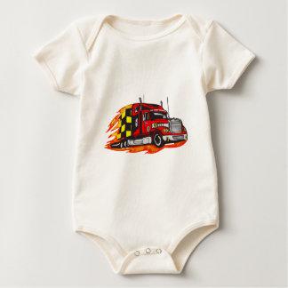 Camión grande del aparejo body de bebé