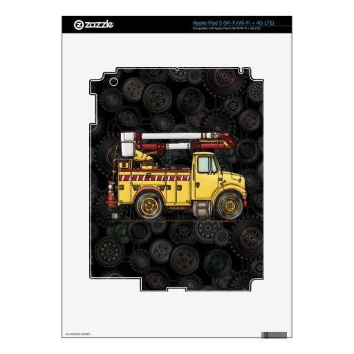 Camión lindo del recogedor de la cereza iPad 3 pegatina skin