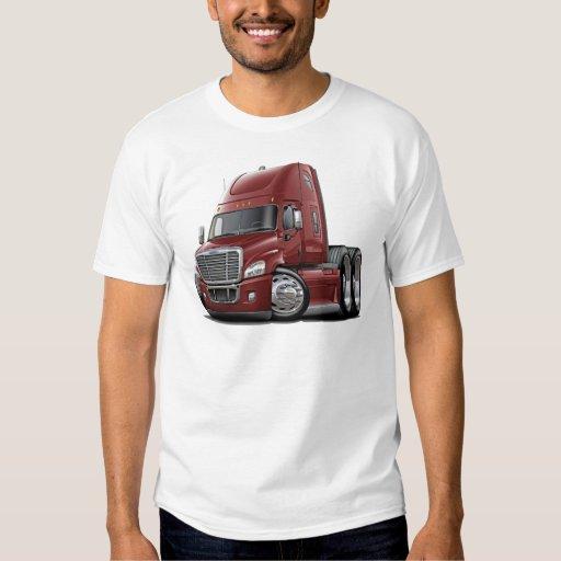 Camión marrón de Freightliner Cascadia Camisas