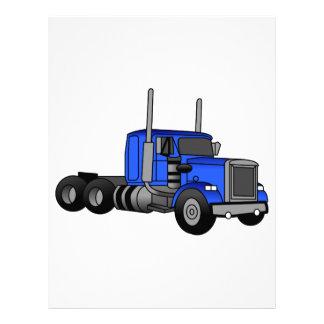 Camión Membrete Personalizado