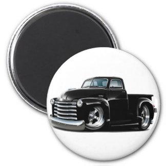 Camión negro 1950-52 de Chevy Iman