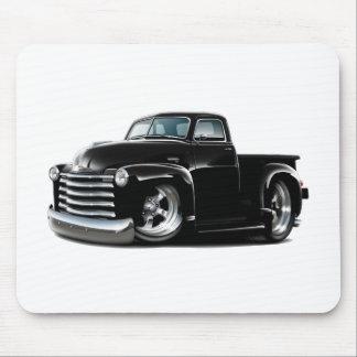 Camión negro 1950-52 de Chevy Tapete De Raton